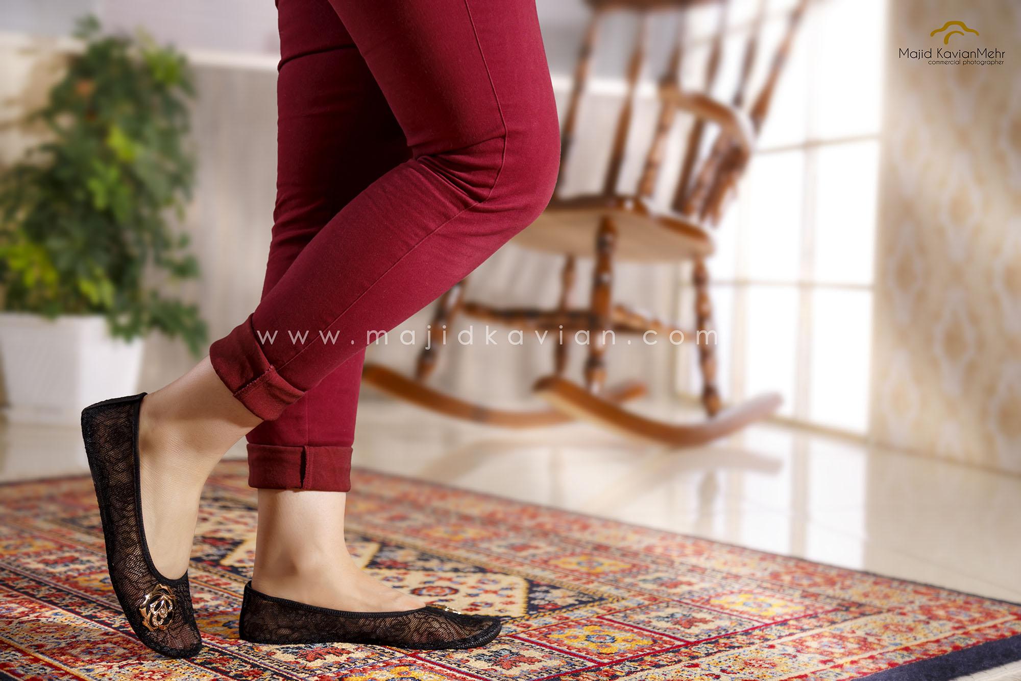 عکاسی فضاسازی از کفش